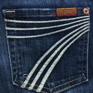 "7 for all Mankind DOJO Jeans 26 (inseam 28"")"